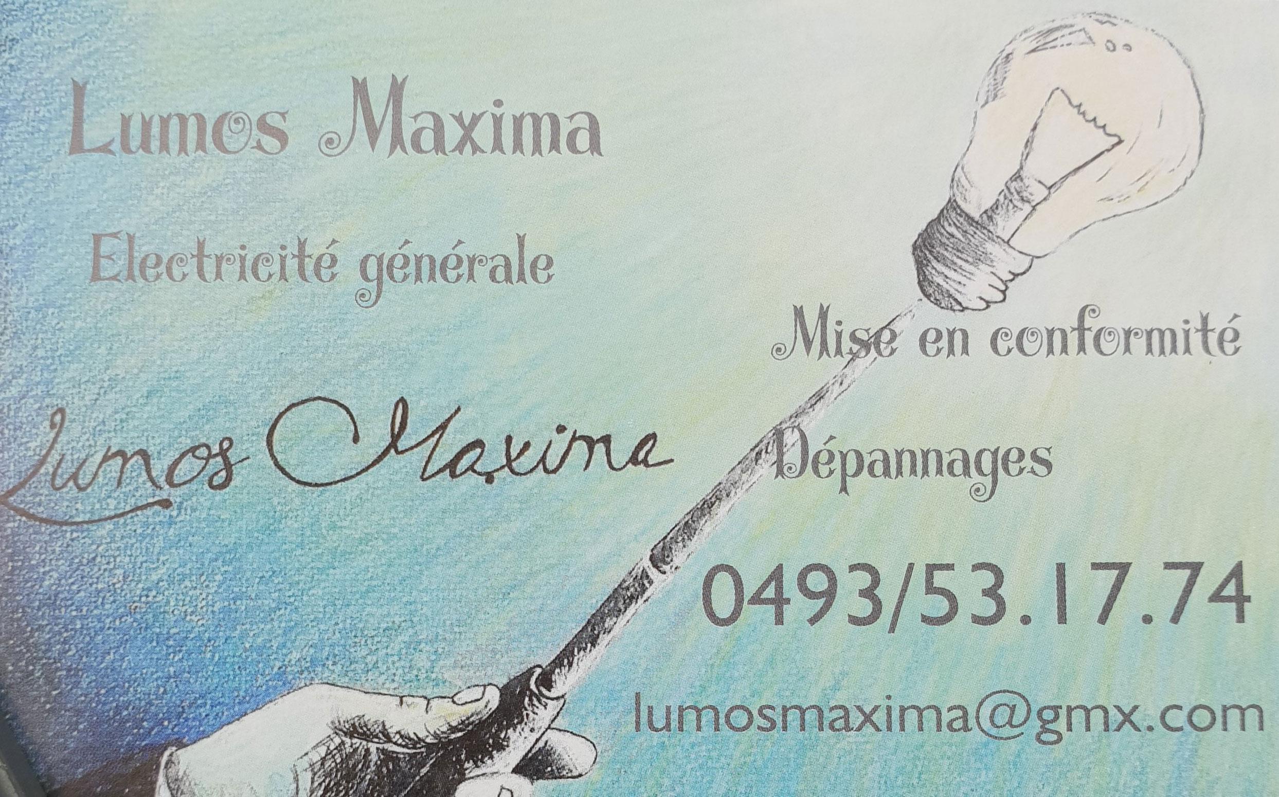Lumos Maxima - Électricité générale